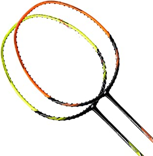 Yonex 2018 New Nanoray Ace Badminton Racket(with BG65 @ 24LB)