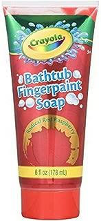 Crayola Bathtub Fingerpaint Soap,Colors May Vary 6 oz