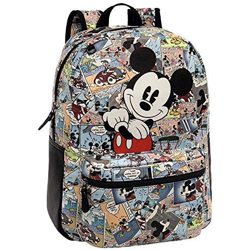 Disney Mickey Comic Set de Sac Scolaire, 42 cm, Multicolore 3232351
