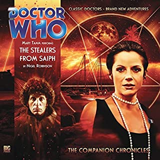 Doctor Who - The Companion Chronicles - The Stealers from Saiph cover art