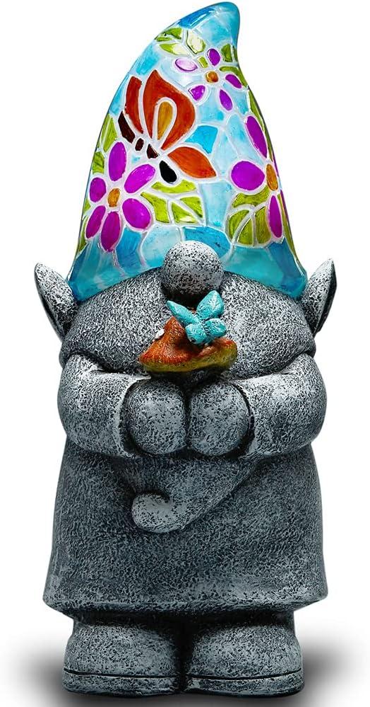 Yiosax Outdoor Garden Decor- Solar Ligh Ranking TOP5 Fees free!! Figurine Moonrays