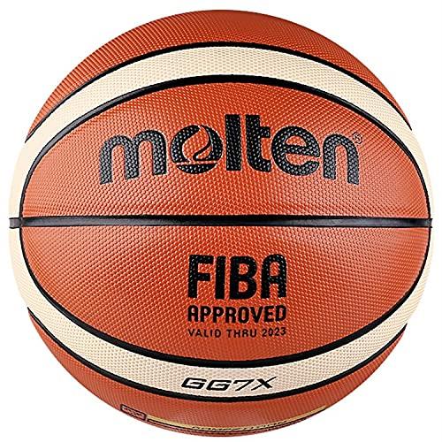 Pelota de Baloncesto Molten Basketball PU No. 7 Standard Indoor Basketbol Ball Baloncesto Hombres Niños