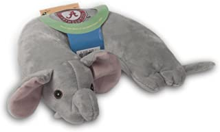 Critter Piller NCAA Kid's Travel Neck Pillow, Alabama Crimson Tide Grey Elephant