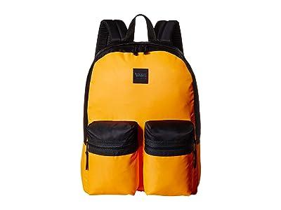 Vans Double Down Backpack (Zinnia/Black) Backpack Bags