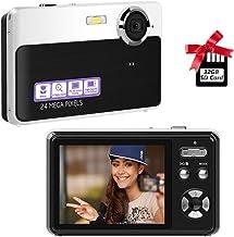 Digital Camera,2.4 inch 24megapixels vlogging Camera,Mini...