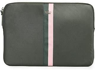 Kate Spade New York Varsity Universal Laptop Sleeve, Deep Evergreen, Green, One Size