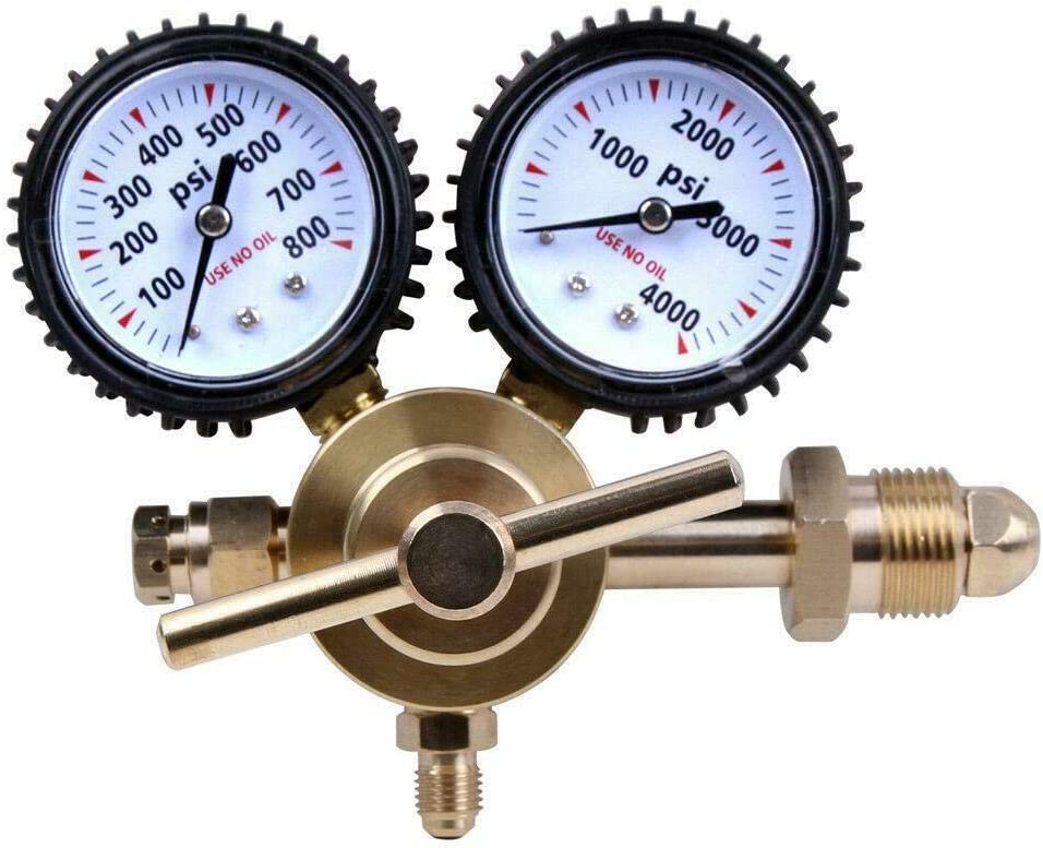 LiveCreative Nitrogen Regulator Gauge Brass Equipment Mail order cheap I Pressure price