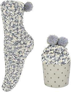 UMIPUBO, Regalo Navidad Calcetines de Invierno Empaque de pastel Calcetines de Casa Dia de san Valentin Super Suaves Cómodos Calentar Mujer DIY