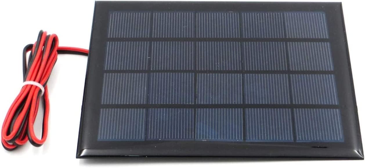 WEIJ 130mm x 150mm 5V 500mA Poly Ranking TOP8 Cell Max 67% OFF Panel Mini Solar Module wi