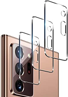 """[3 Pack] 2020 New Camera Lens Screen Protector for Samsung Galaxy Note 20 Ultra (6.9"""") Clear, HD/Tougher than 9H /Fingerpr..."""
