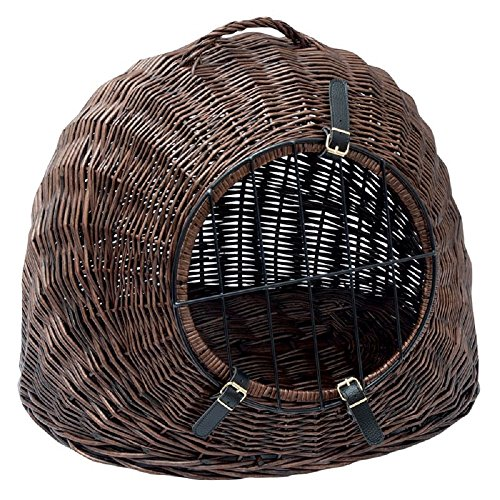 Aumuller XXL Cat Wicker Basket Den