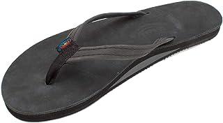 a951190a15a Rainbow Sandals Women s Single Layer Premier Leather w Narrow Strap Black