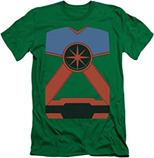Justice League of America DC Comics Martian Manhunter Costume Adult Slim T-Shirt