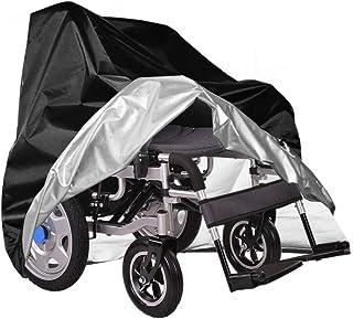 Cubierta Impermeables De para Scooter De Bicicleta De Silla De Ruedas, Resistente A La Rotura Oxford Resistente Al Polvo Al Aire Libre Cubierta Protectora A Prueba De Viento