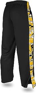 Zubaz Men's Officially Licensed Print Accent NFL Stadium Pants