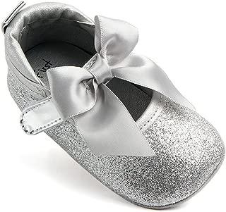 Princess Shoes,Kimanli Fashion Baby Girl Soft Sole Bling Bowknot Anti-slip Shoes