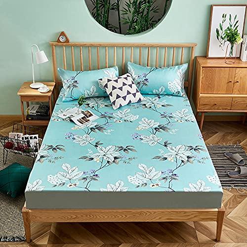 DSman Protector de colchón, con Aloe Vera, (Todas Las Medidas) Tapete de Tres Piezas -10_180cmx200cm