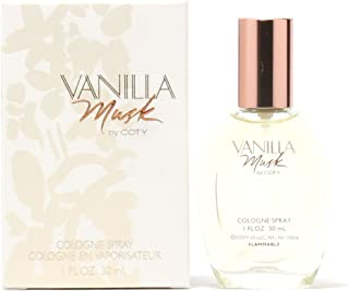 Coty Vanilla Musk for Women Cologne Spray, 1 Ounce