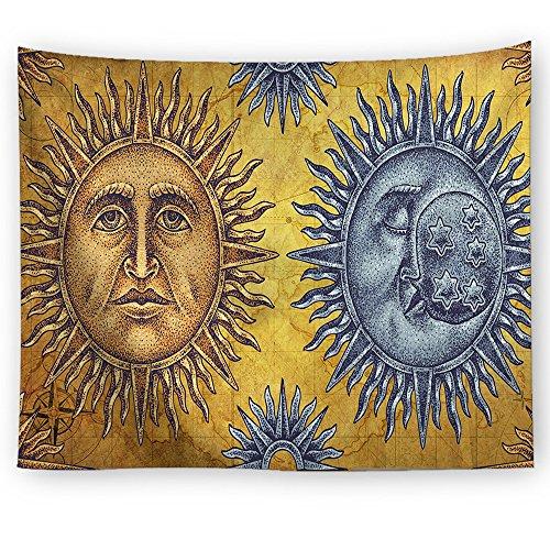 xkjymx Tela Colgante Tela Decorativa Escena del Sol impresión Tapiz Imagen 2 150X100cm