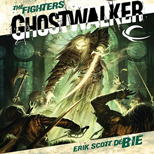 Ghostwalker audiobook cover art