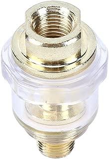 Lubricador de aceite, Mini lubricador de aceite en línea para herramienta neumática y tubo de compresor de aire, herramienta de aire de lubricación para trabajos pequeños