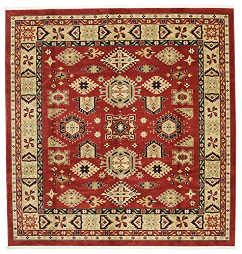 RugVista Schirwan Kazak Teppich 300x300 Orientteppich, Quadratisch