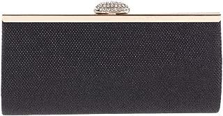 HAOXIONG-ZHANG New Brilliant Eventide Bag with Diamond Fashion Handbag PU Leather Small Square Bag European Beauty Handbag Practical