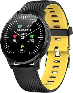 YZY Pulsera Actividad, rastreador de Actividades con 1.3 Pulgadas IPS Pantalla en Color Reloj Inteligente de Larga duración con batería y Monitor de sueño Paso Contador de calorías