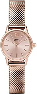 Cluse Womens Analogue Classic Quartz Watch with Stainless Steel Strap CL50002