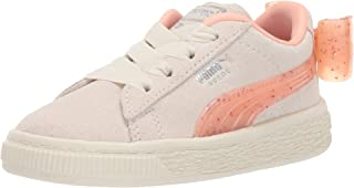 PUMA Girls' Suede Bow Jelly Sneaker