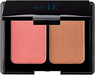 e.l.f. Aqua Beauty, Aqua-infused Blush and Bronzer, Bronzed Pink Beige 0.29 Oz