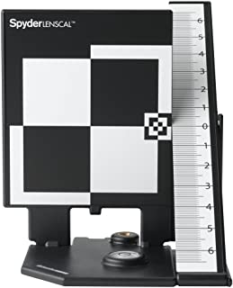 Datacolor Spyderlenscal SLC100 Lens Calibration System, Black/White