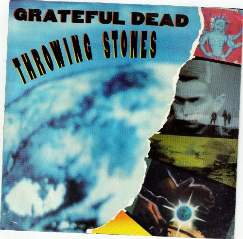 GRATEFUL DEAD / Throwing Stones (Ashes To Ashes) / PICTURE SLEEVE ONLY!