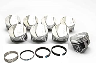 Speed Pro TRW Chevy 396 325/350HP Forged +21cc Dome Pistons+MOLY Rings. (4.124
