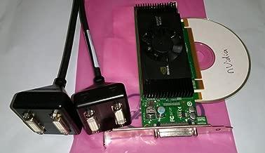 Dell/nVidia Quadro NVS 420 NVS420 512MB 4 Quad Monitor Professional Video Card P/N: H995J