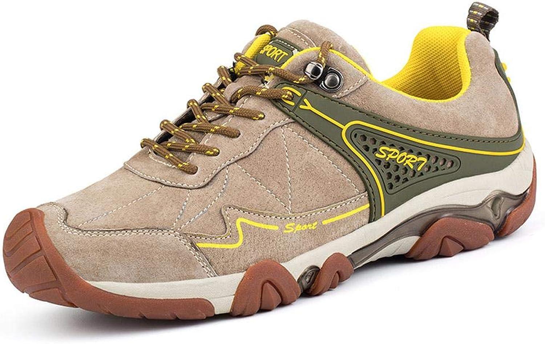 Wanderschuhe Vier Jahreszeiten Herren Freizeitschuhe atmungsaktive Mesh-Schuhe Sommer leichte leichte Outdoor-Sportschuhe, geeignet zum Wandern im Freien  Zähler echt
