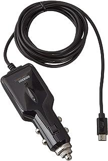 comprar comparacion AmazonBasics - Cargador de coche universal con conector micro USB para Android (1,5 m)