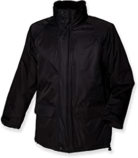 Henbury Mens Milan City Waterproof & Windproof Jacket With Quilted Lining