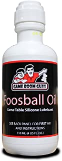 Game Room Guys Foosball 4 oz Bottle Foosball Oil Rod Silicone
