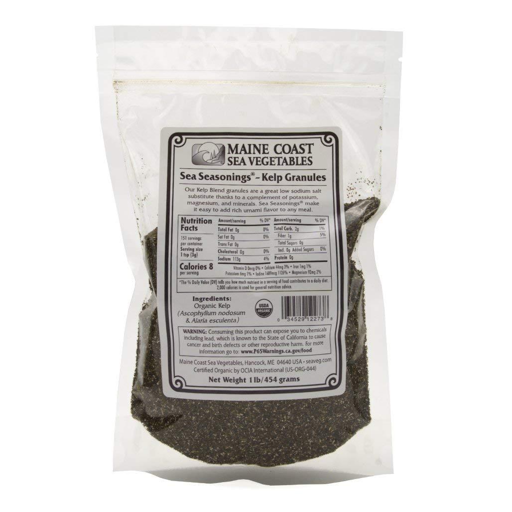 Kelp Granules Blend Soldering - Sea Seasonings Bulk 1 LB Organic Time sale