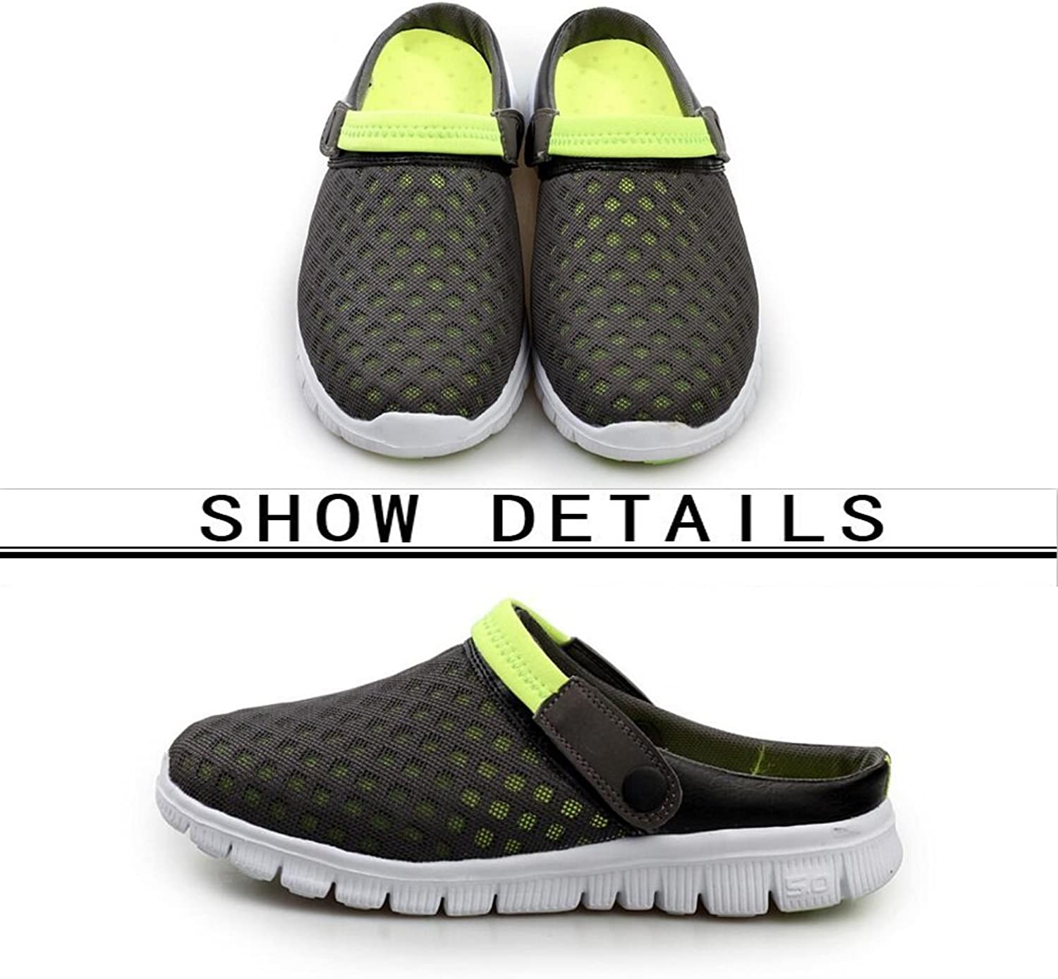 197a73f10d257 36-46cm Holes Drainage with shoes Garden Walking Outdoor - Sandals ...