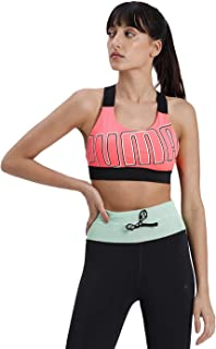 PUMA Feel it Bra M Sports Bra - Ignite Pink-Bright Rose, Small