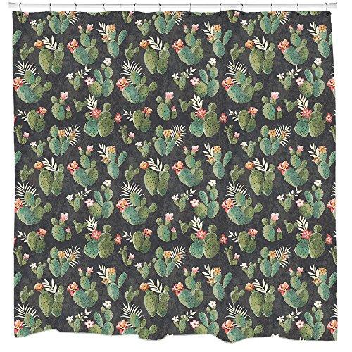 PRICKLY Muster Duschvorhang von Sharp Shirter, multi, 180 cm x 188 cm(Standard)