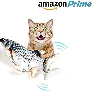 WesGen Realistic Plush Simulation Electric Doll Fish,...