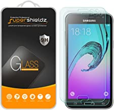 (2 Pack) Supershieldz for Samsung Galaxy J3 and Galaxy J3 (2016) Tempered Glass Screen Protector, Anti Scratch, Bubble Free