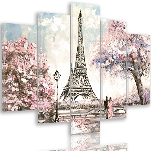 quadri moderni soggiorno parigi Feeby Frames