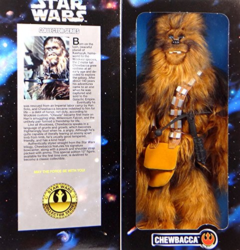 """Hasbro Chewbacca The Wookiee A New Hope 12\"""" Inch, 30 cm Actionfigur - Star Wars Power of The Force Collection 1996"""