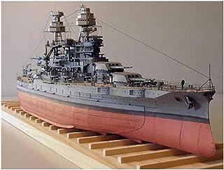 1/250 USS Arizona BB-39 Battleship Model Building Kit,DIY Card Paper Model Kit Puzzles Handmade Toy