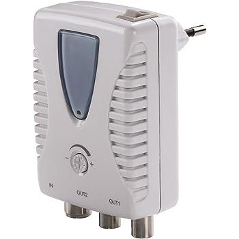 2 uscite TV frequenza: 47-790 MHz Amplificatore per uso domestico Televes 552240 guadagno: 20 db