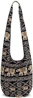 junengSO Frauen Hippie Umhängetaschen Fransen Große Geldbörsen Ethnische Tasche Handtasche Reisetasche
